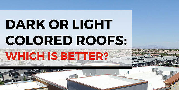 dark or light colored roofs: which is better?