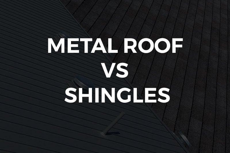 metal roof vs shingles