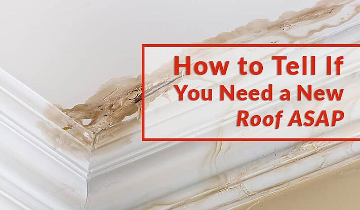 How to Tell If You Need a New Roof ASAP