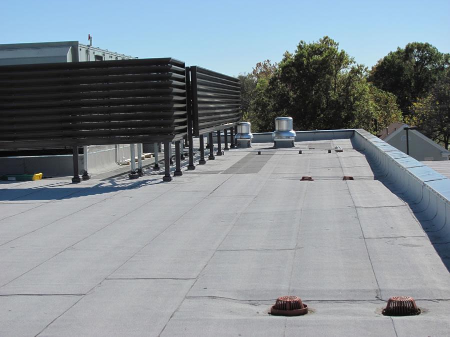Commercial Asphalt Roof