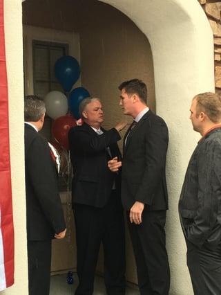 Joe Haney - Freedom Alliance Home Donation Las Vegas 2017