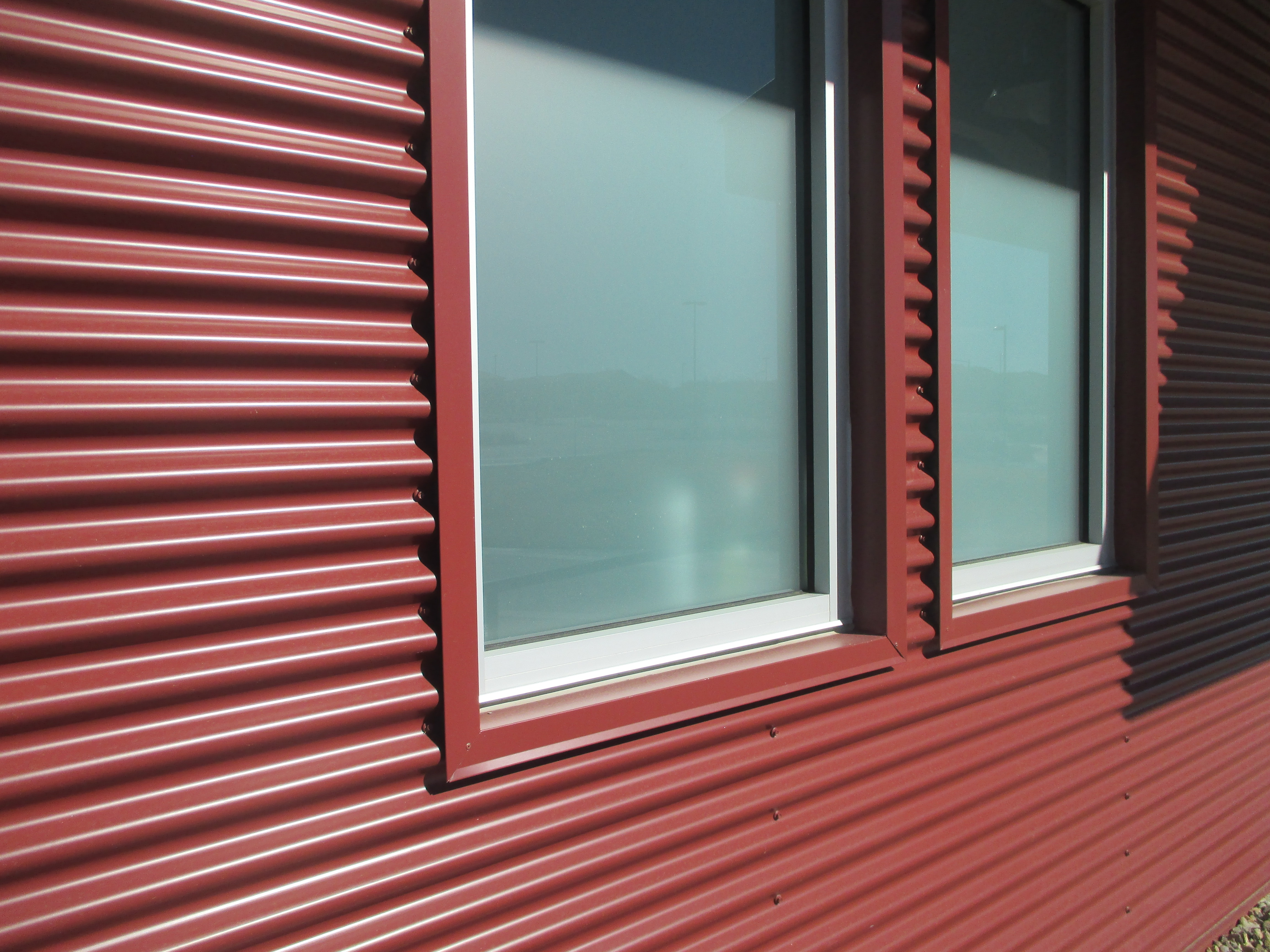 Commercial Metal Wall Paneling