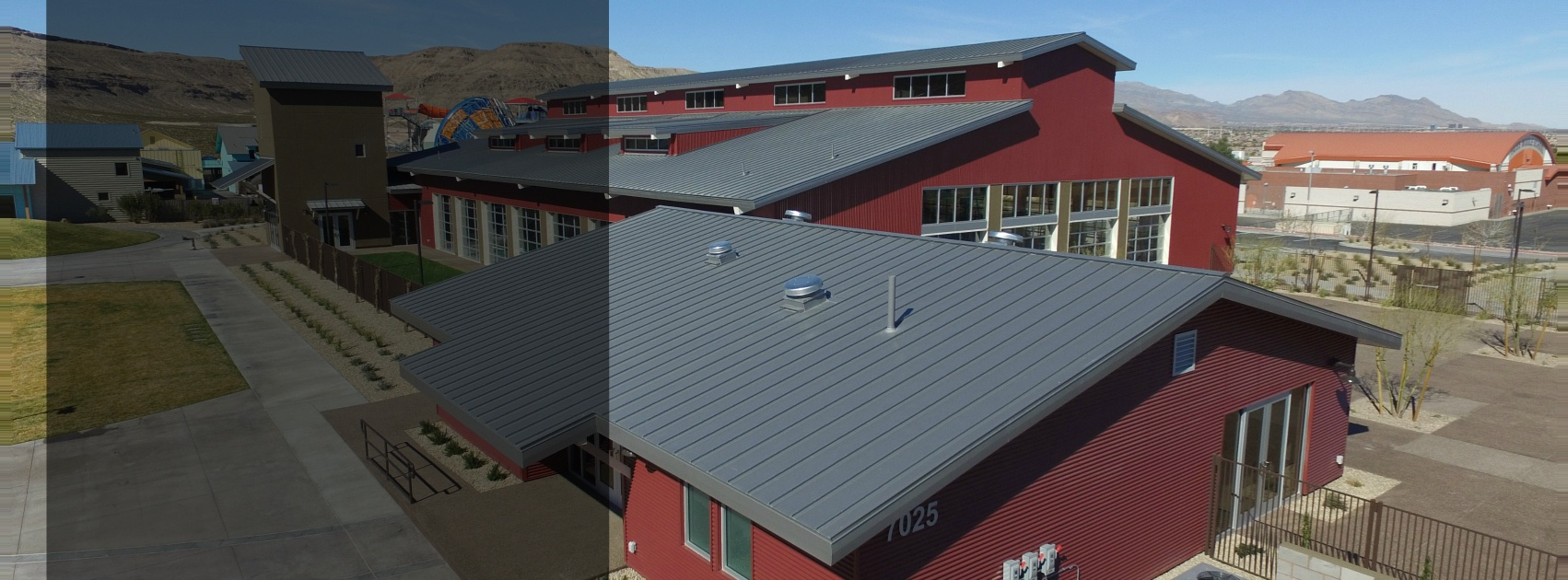 Commercial Roofing - Metal